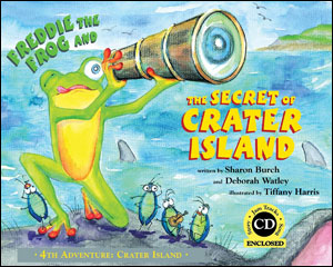 Freddie The Frog and The Secret of Crater Island: 4th Adventure - Crater Island