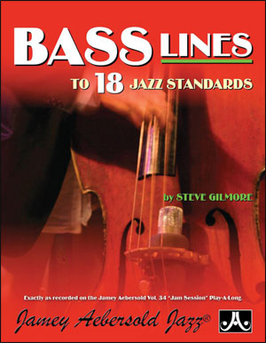Bass Lines From The Volume 34 Play-A-Long
