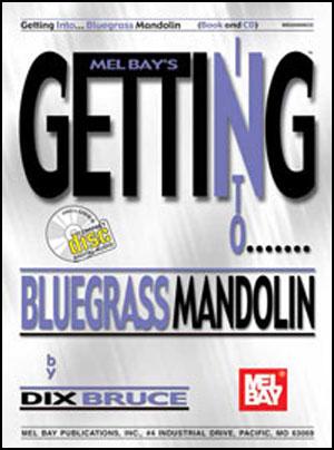 Getting Into Bluegrass Mandolin Book/CD Set