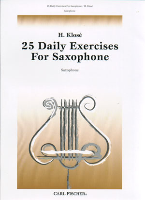 25 Daily Excercises For Sax - H. Klose