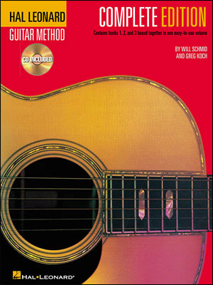 Hal Leonard Guitar Method - Complete Second Edition with CDs