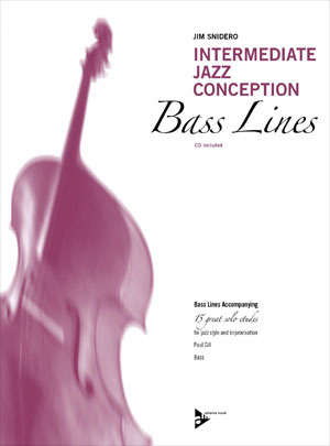 Intermediate Jazz Conception for Bass Lines