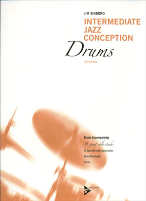 Intermediate Jazz Conception for Drums