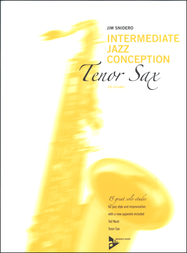 Intermediate Jazz Conception for Tenor Sax