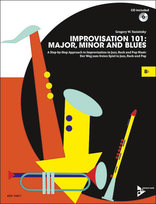 Improvisation 101: Major, Minor and Blues - B Flat