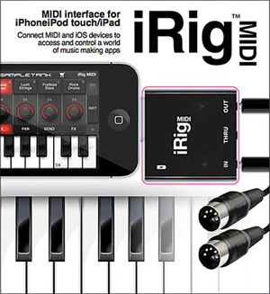 iRig MIDI - iOS MIDI Interface