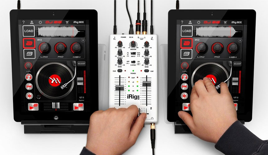 iRig Mix - Mobile Mixer