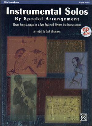 Instrumental Solos by Special Arrangement - Alto Sax
