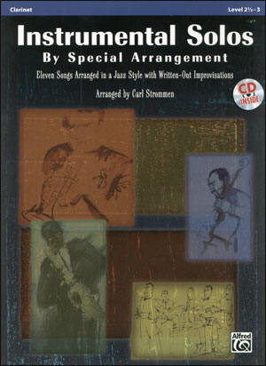 Instrumental Solos by Special Arrangement - Clarinet