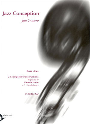 Jazz Conception by Jim Snidero for Bass Lines