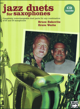Jazz Duets For Saxophones - Watts And  Eskovitz