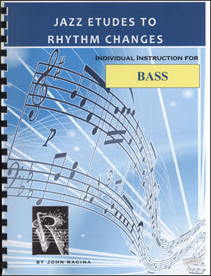 Jazz Etudes To Rhythm Changes - Bass