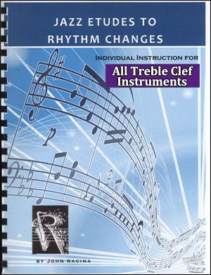 Jazz Etudes To Rhythm Changes - Treble