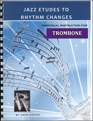 Jazz Etudes To Rhythm Changes - Trombone