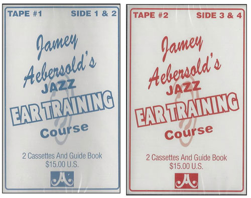 Jamey Aebersold's Jazz Ear Training - CASSETTES ONLY