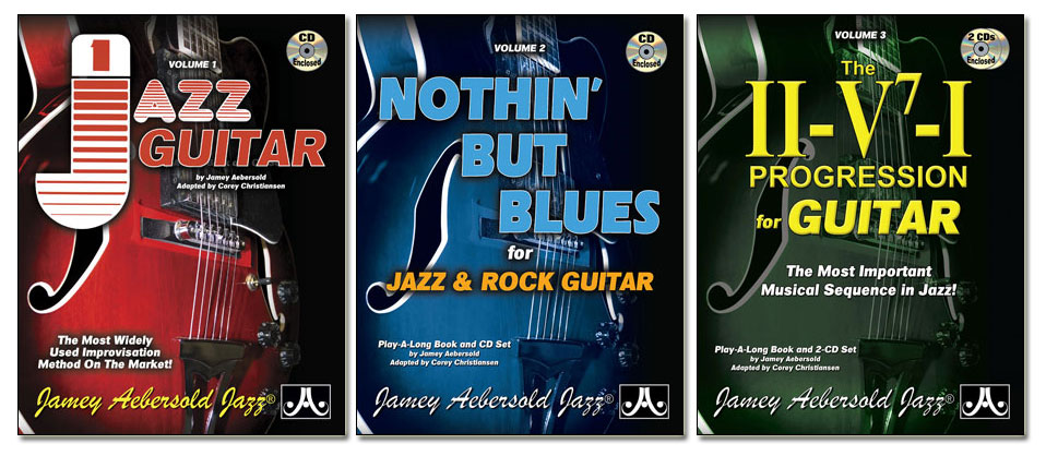 Vols. 1, 2, and 3 for Guitar - 3-Pack Set!