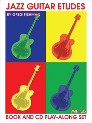 Jazz Guitar Etudes - Bk/CD