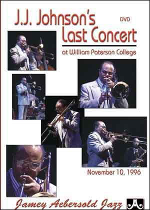 J.J. Johnson's Last Concert - DVD