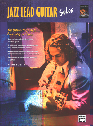 Jazz Lead Guitar Solos - Book and CD