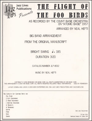 Flight of the Foo Birds - Big Band Arrangement
