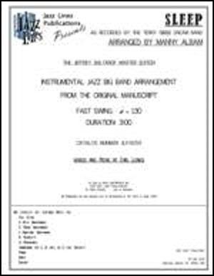 Sleep - Arrangement
