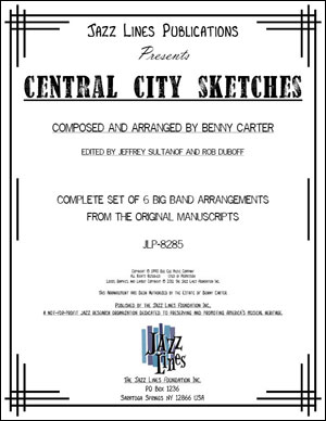 CENTRAL CITY SKETCHES - COMPLETE SET OF 6 MOVEMENTS
