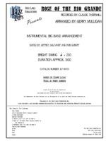 Rose Of The Rio Grande - Jazz Big Band Arrangement