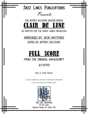 CLAIR DE LUNE -HARRY JAMES