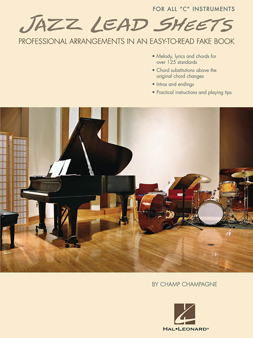 """Jazz Lead Sheets- For All """"C"""" Instruments"""