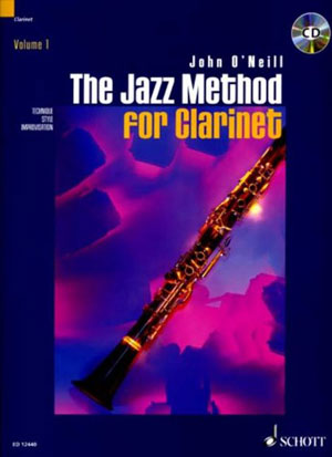 The Jazz Method Series - John O'Neill for Clarinet