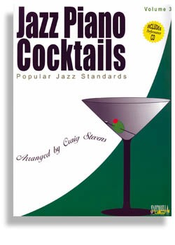 Jazz Piano Cocktails - Volume 3 Bk/CD