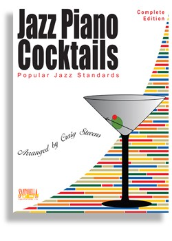 "Jazz Piano Cocktails - Complete ""Highlights"" Edition - Book Only"