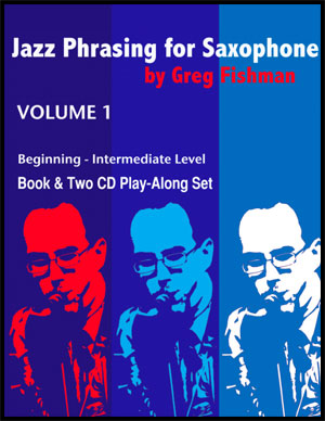 Jazz Phrasing for Saxophone - Volume 1