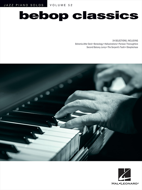 Jazz Piano Solos - Vol. 52 Bebop Classics