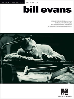 Jazz Piano Solos - Vol. 19 - Bill Evans