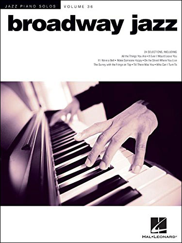 Jazz Piano Solos - Vol. 36 - Broadway Jazz