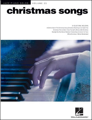 Jazz Piano Solos - Vol. 25 - Christmas Songs