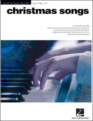Jazz Piano Solos - Vol. 25 - Christmas Songs
