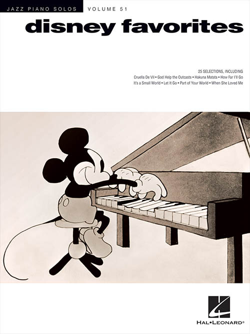 Jazz Piano Solos - Vol. 51 Disney Favorites