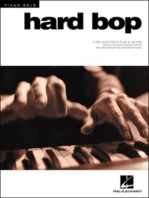 Jazz Piano Solos - Vol. 6 - Hard Bop