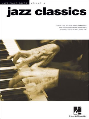 Jazz Piano Solos Volume 14 - JAZZ CLASSICS