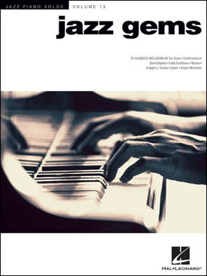 Jazz Piano Solos Volume 13 - JAZZ GEMS