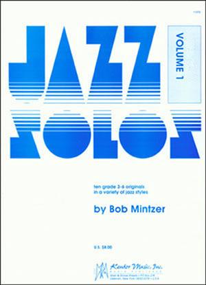 Kendor Jazz Solos Series - Volume 1 - Alto Sax