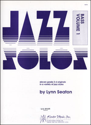Kendor Jazz Solos Series - Volume 1 - Bass