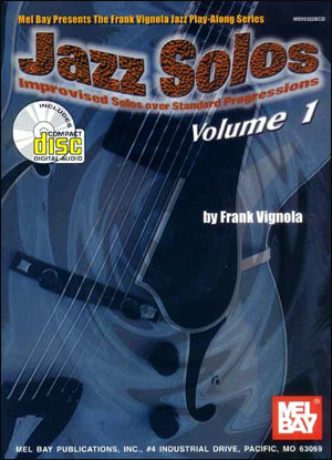 Jazz Solos Volume 1 Book/CD Set