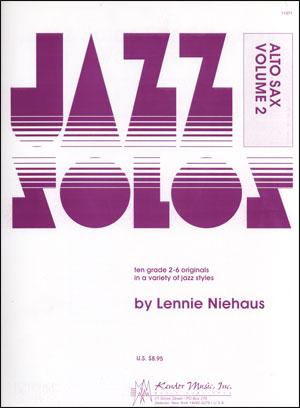Kendor Jazz Solos Series - Volume 2 - Alto Sax
