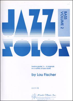 Kendor Jazz Solos Series - Volume 2 - Bass