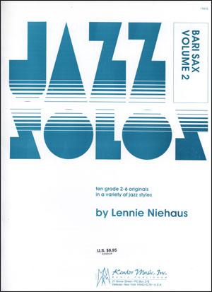 Kendor Jazz Solos Series - Volume 2 - Baritone Sax