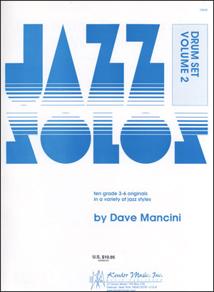 Kendor Jazz Solos Series - Volume 2 - Drums