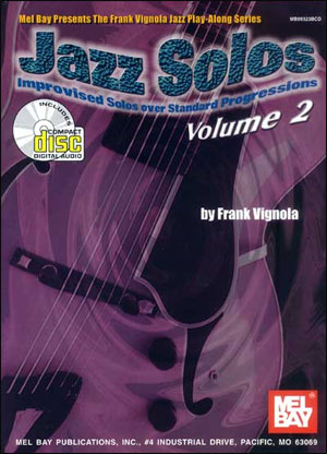Jazz Solos, Volume  2 Book/CD Set